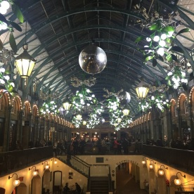 covent garden in christmas