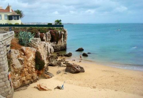 cascais beaches in lisbon, portugal