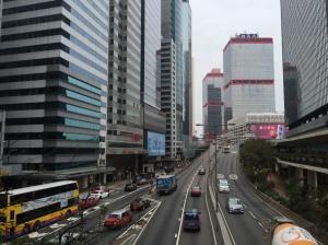 hong kong sokaklar