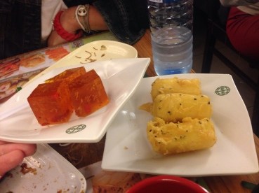 tim ho wan hong kong desserts, michelin guide, tonic medlar, fried milk