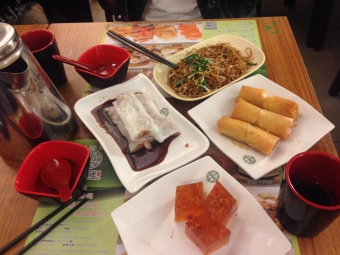 tim ho wan hong kong, michelin guide, food, vermicelli roll, spring roll, tonic medlar, noodle