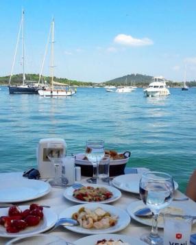 yasemin restaurant burgazada istanbul