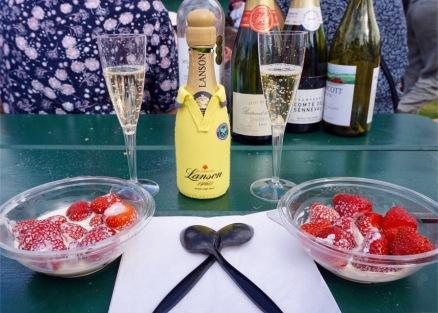 çilek, kent strawberries, wimbledon, londra, ingiltere, uk, champagne, şampanya