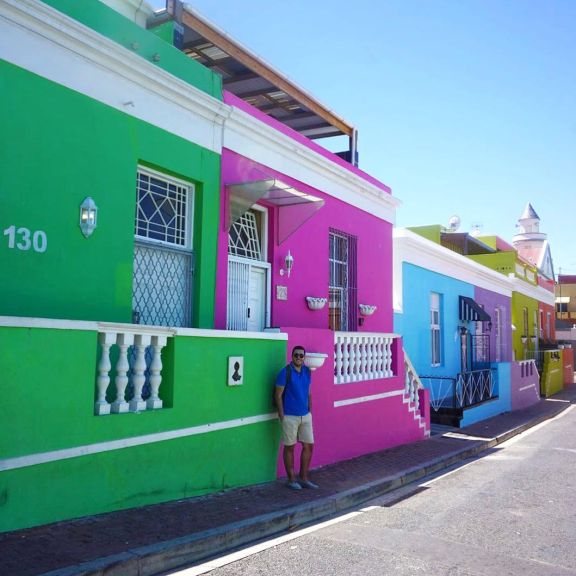 Bo-Kaap (Cape Town, Güney Afrika, South Africa)