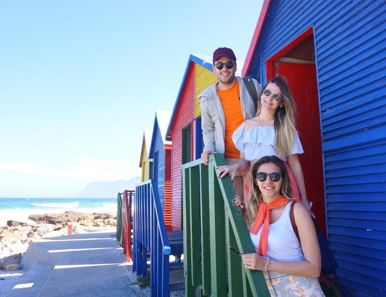 St. James Beach (Cape Town, Güney Afrika, South Africa)