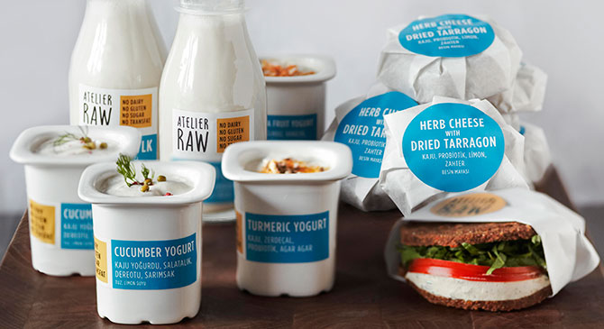 Atelier Raw Istanbul, Raw Foods