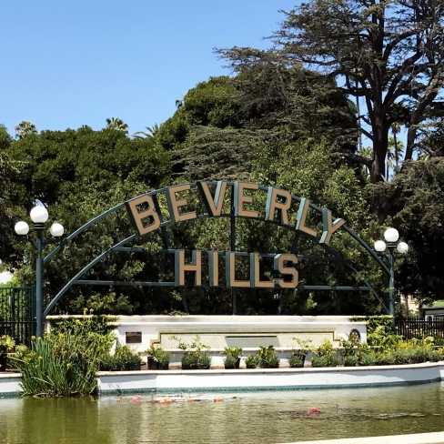 beverly hills sign, Los Angeles