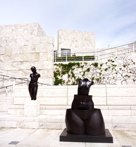 getty center, rene magritte, sculpture, los angeles