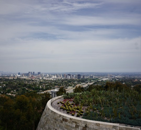 Getty Museum manzara, Los Angeles