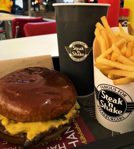 Steak n Shake, Santa Monica, Los Angeles