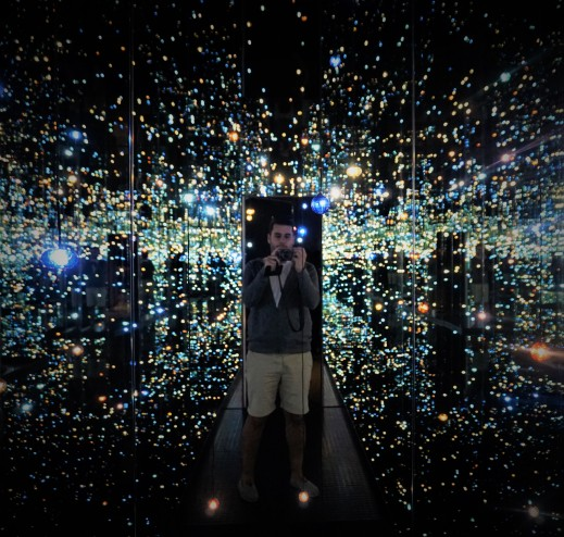 the broad, yayoi kusama, infinity room, los angeles