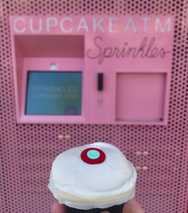 Sprinkles Cupcake ATM in Beverly Hills, Los Angeles