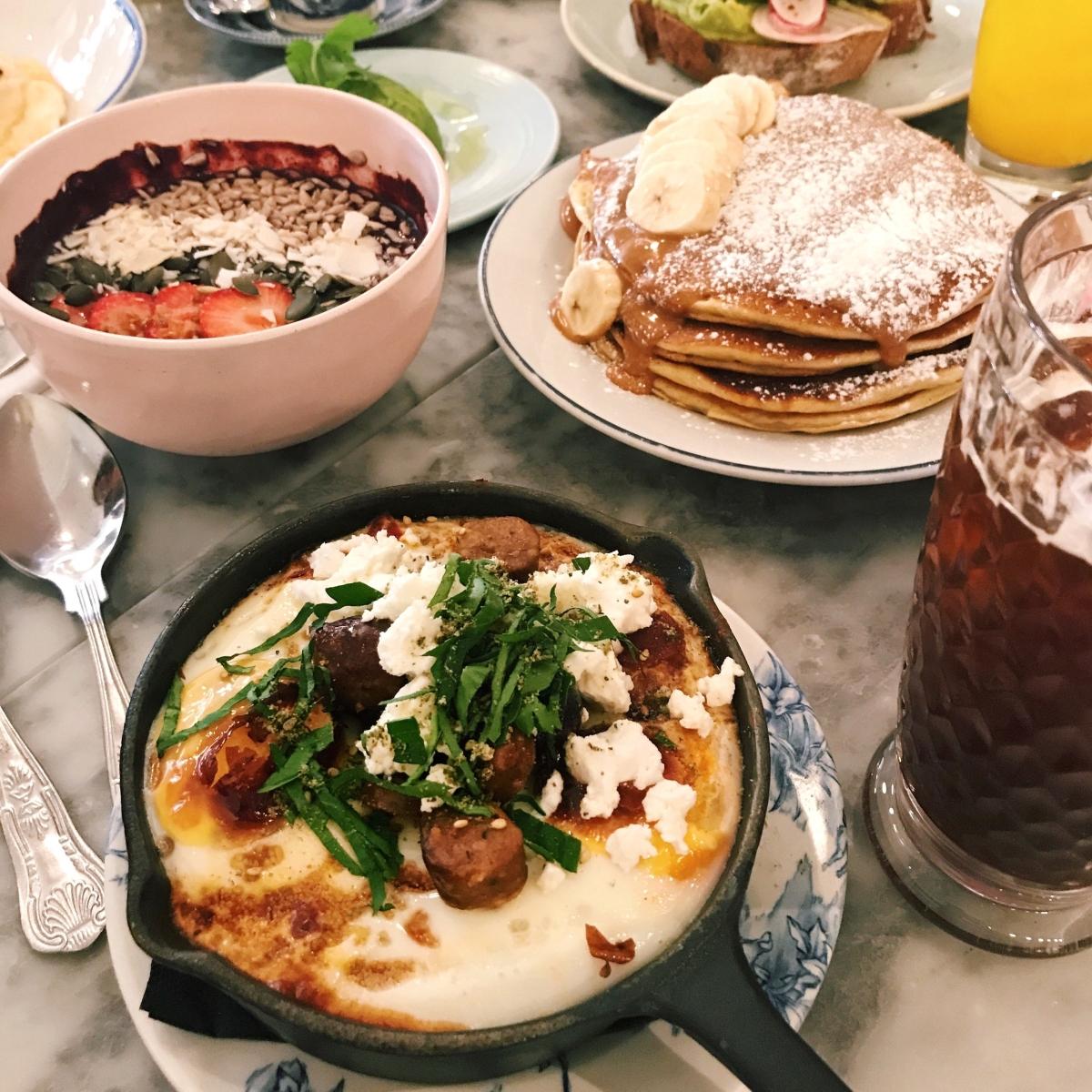 Londra'da en iyi kahvaltılar