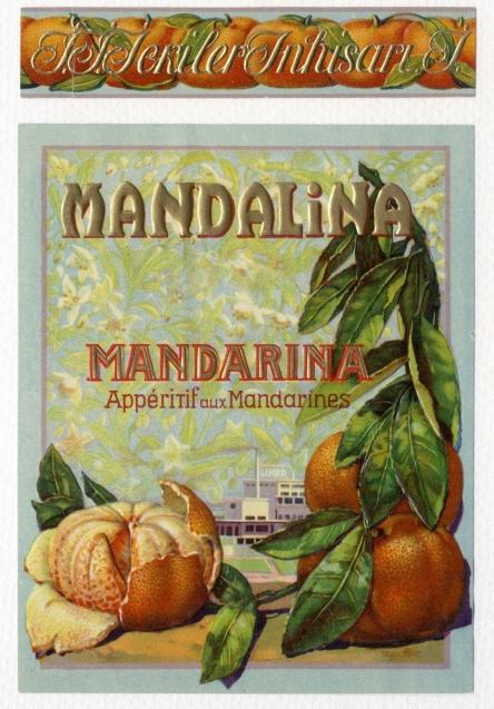 mandalina likörü