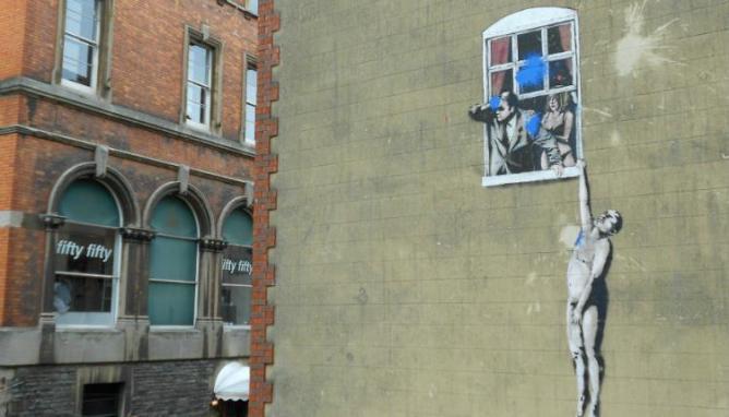 Bristol Banksy Mural
