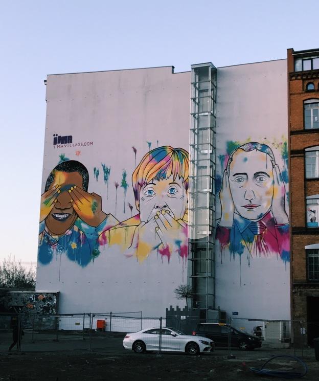 Kreuzberg mural duvar resmi