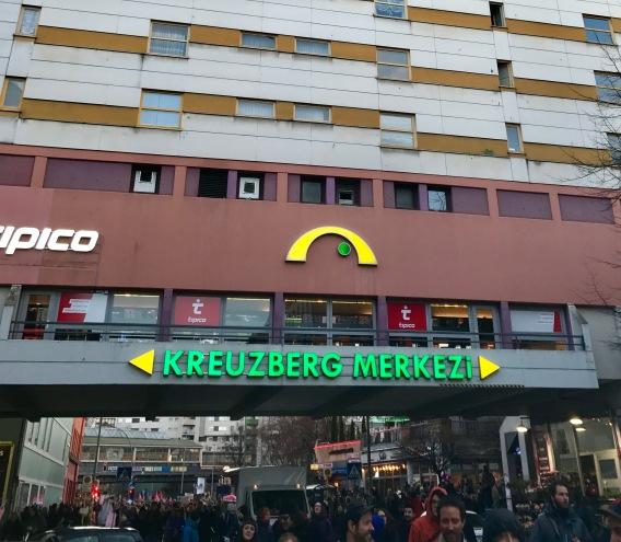 Kreuzberg Merkezi Berlin