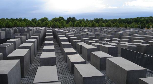 Yahudi Soykirim Aniti Berlin Memorial for Jews